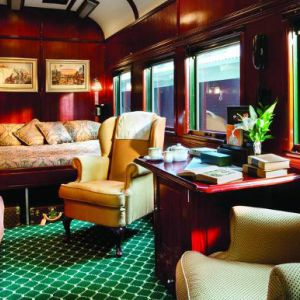 Rovos Rail Luxury Train Safari Package BushBreaks Royal Suite
